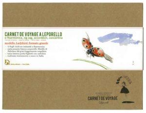carnet de voyage pagine bianche a leporello modello ladybird